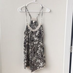 Anthropologie sleep romper size M